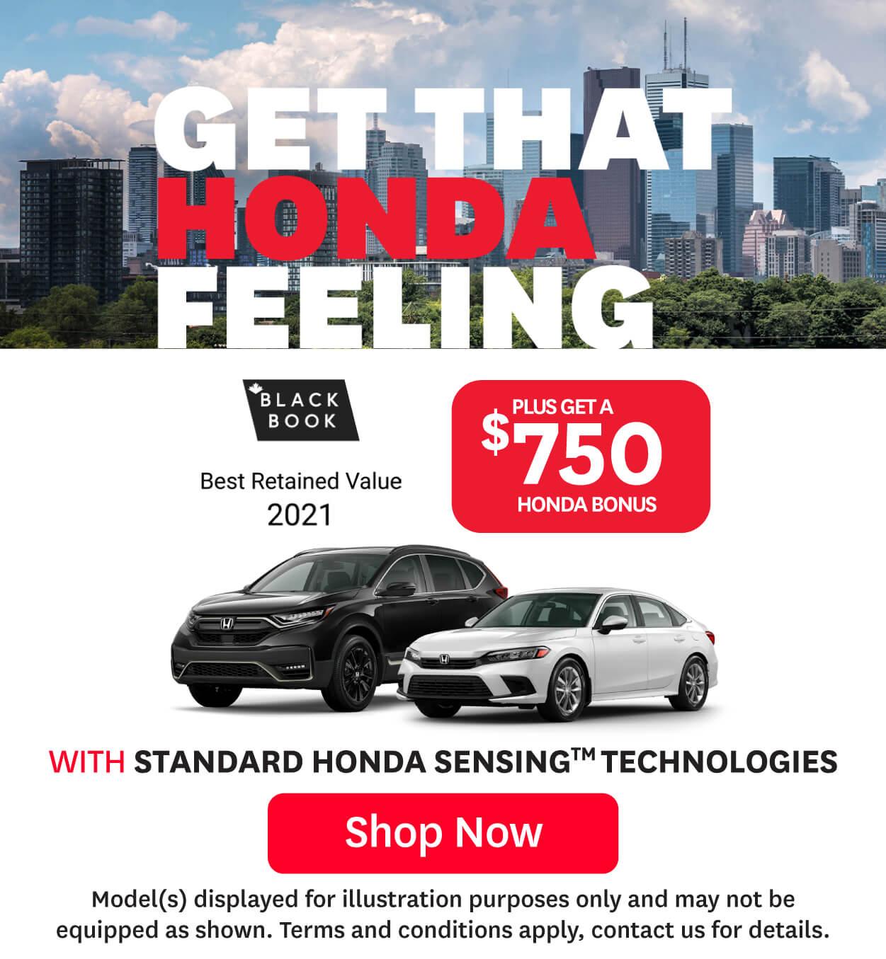 Honda Offers July at Orangeville Honda