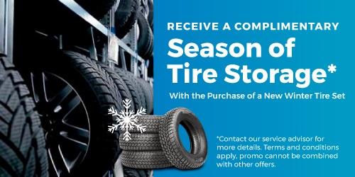Season of Tire Storage