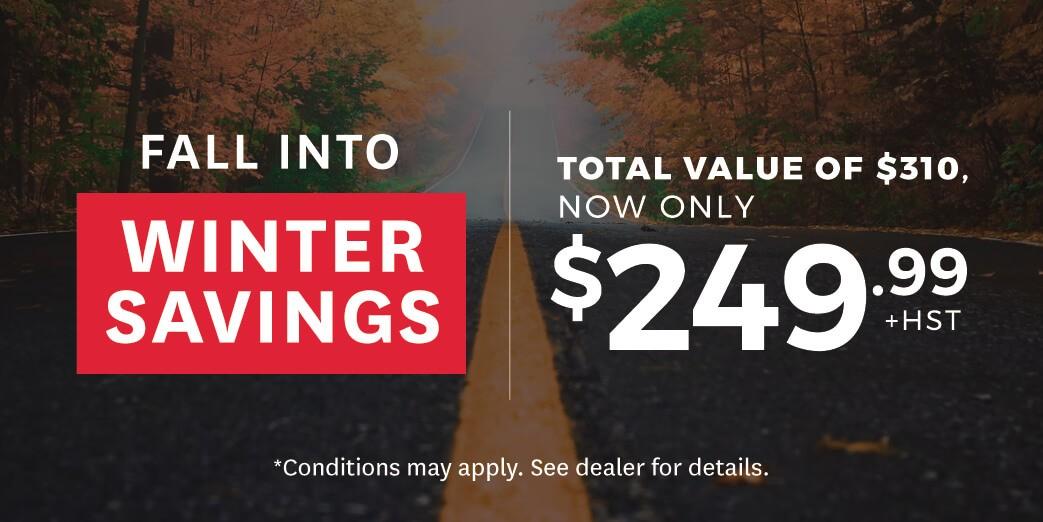 Honda Winter Savings