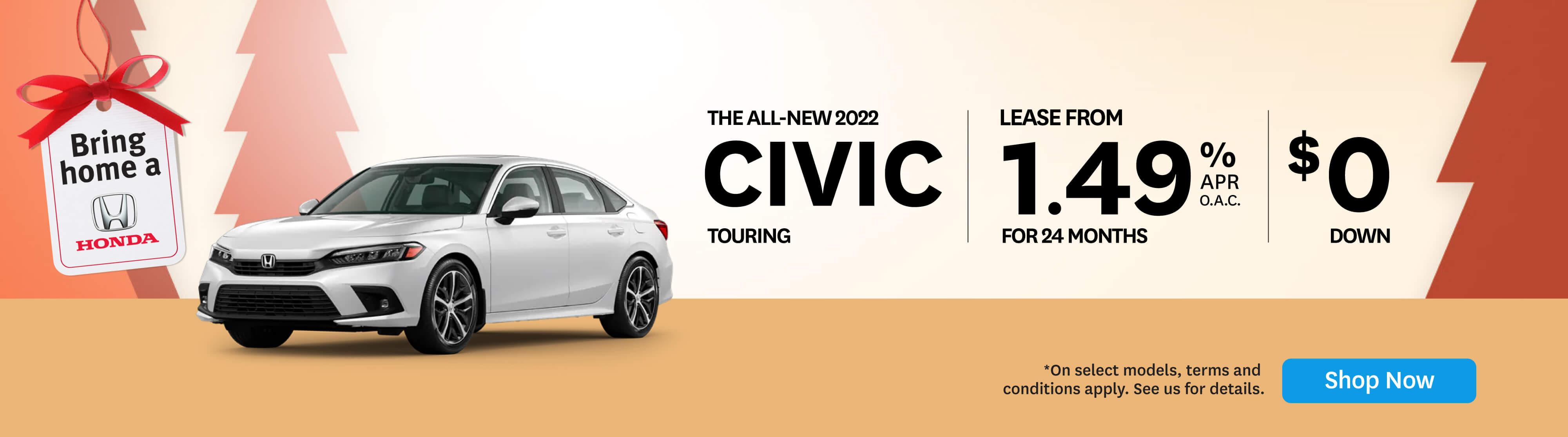 Bring Home Civic Touring - Orangeville Honda