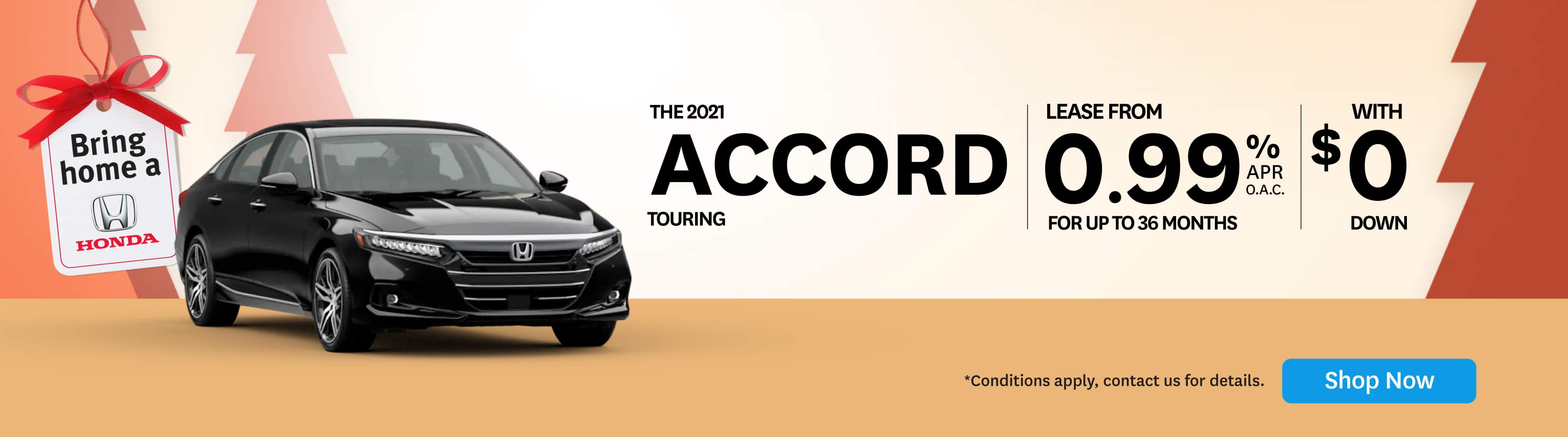 Bring Home Honda Accord Touring - Orangeville Honda